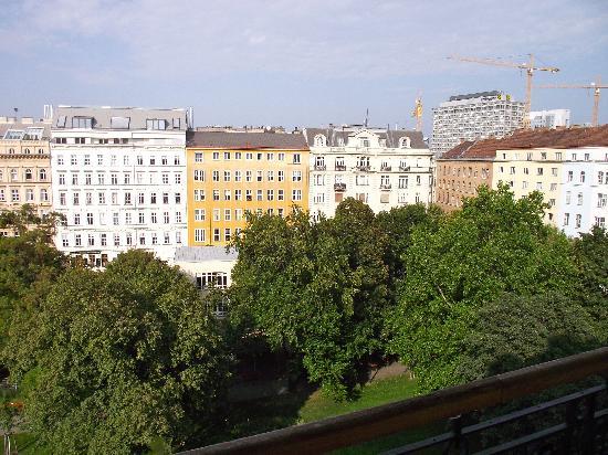 K+K Palais Hotel: Alternative view from window