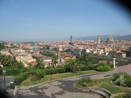 Hotel Grifone Firenze : View on Florence