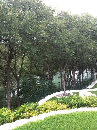 ‪‪Gruene River Hotel & Retreat‬: From balcony‬