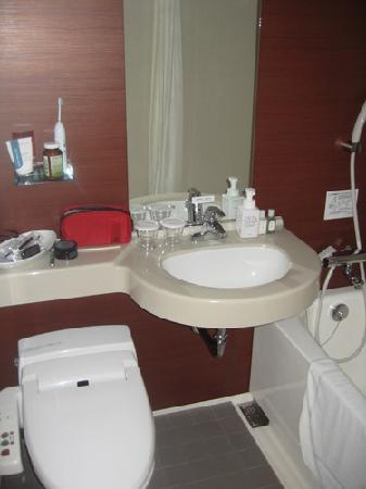 Richmond Hotel Utsunomiya Ekimae Annex: Bathroom sink
