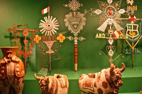 Museum of International Folk Art: A display in the Andean gallery