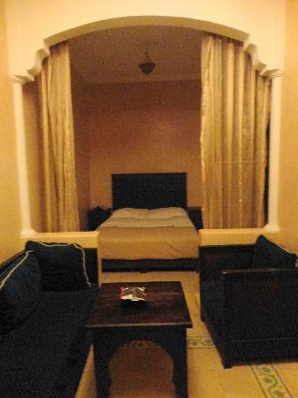 Hotel Cecil Marrakech: habitación con a/a