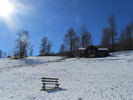 Mirador los Volcanes Lodge & Boutique: la nieve