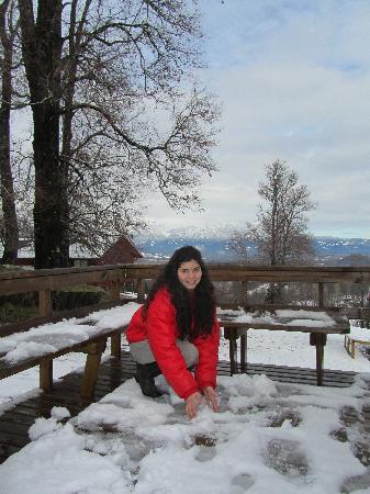 Mirador los Volcanes Lodge & Boutique: en nieve