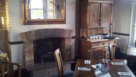 The Rose: Upstairs dining room