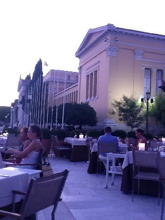 Aegli Zappiou : view of Zappeion Hall