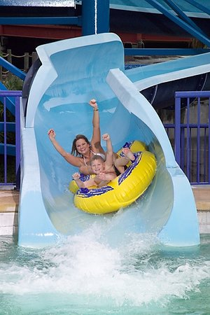 Daytona Lagoon: waterslide