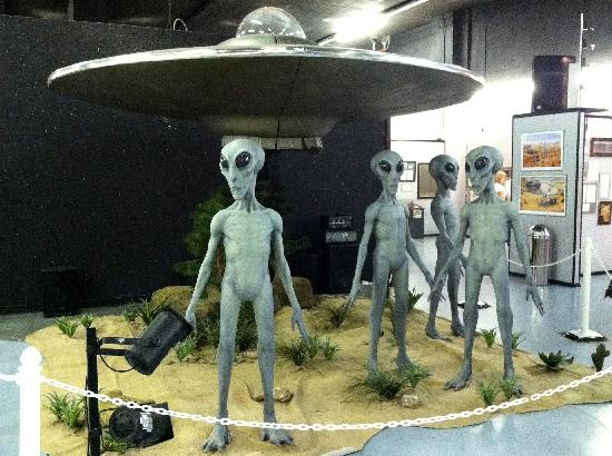 International UFO Museum and Research Center: Cheese in UFO Museum in Roswell