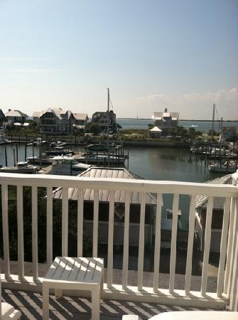 Marsh Harbour Inn: view from the room