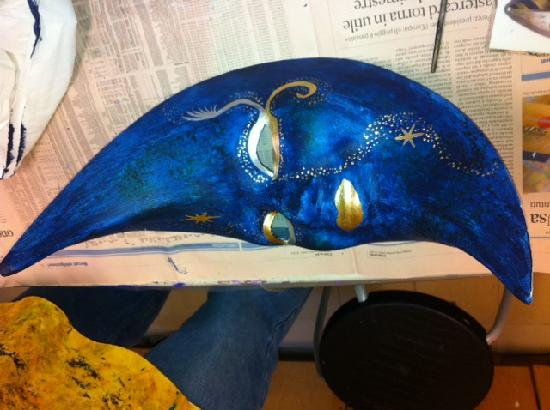 Ca' Macana: Here is one of the masks we made