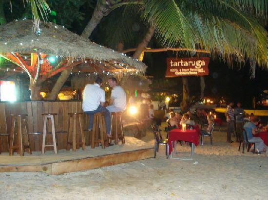 Tartaruga Hotel & Beach Restaurant: Beach bar