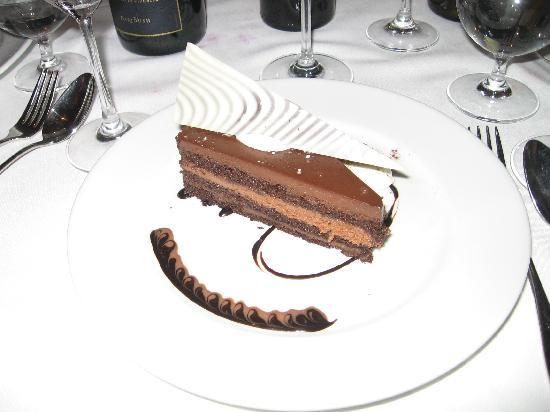 Tribeca Grill: Tribeca Chocolate Cake was decadently delicious