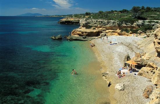 L'Ametlla de Mar, Spanien: Cala de la Llenya