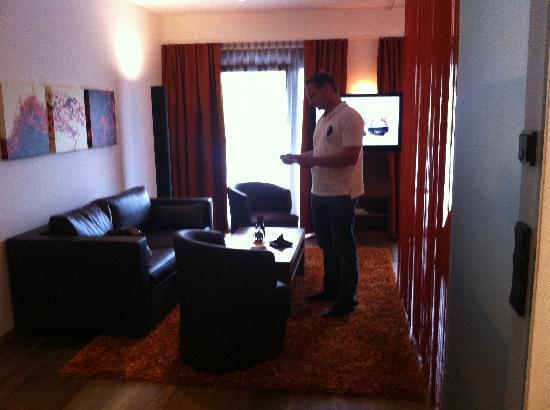 Hotel Restaurant Spa Rosengarten: Wohnbereich