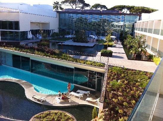 Onyria Marinha Edition Hotel & Thalasso: SPA under the hotel
