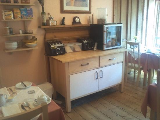 Rossmount Guest House: Sala per la colazione