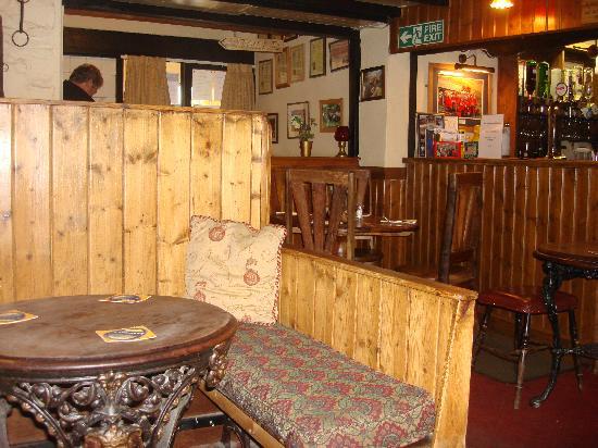 Kirkstile Inn: the bar