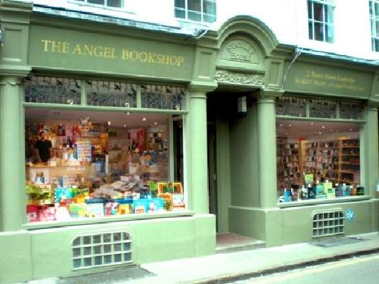 The Angel Bookshop: Our shop front