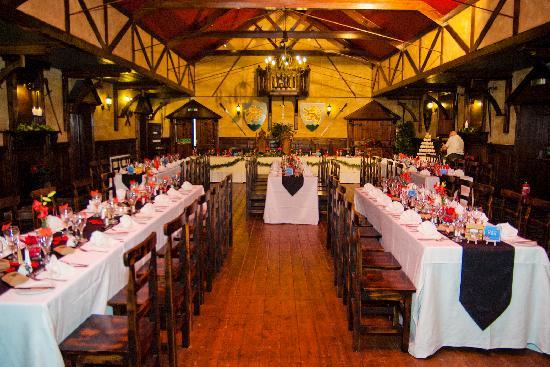 Forth Inn : The dinner set up