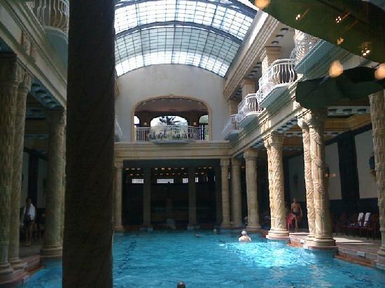 Gellert Spa: Innenbereich