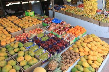 Frutis at the Friday Market