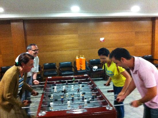 Guitart La Molina Resort & Spa : futbolin hotel