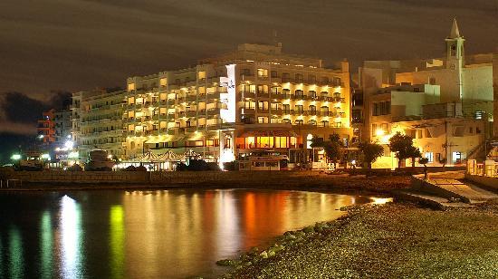 Marsalforn, Malte : Hotel Calypso facade