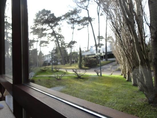 Barradas Parque Hotel & Spa: Vista da janela no cafe-da-manhã