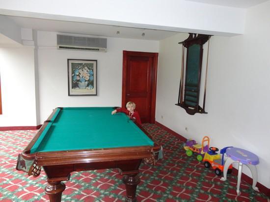 Barradas Parque Hotel & Spa: Sala de jogos