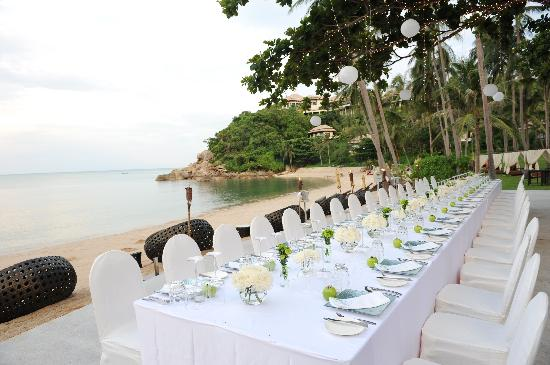 Perfection out of this world wedding and resort banyan for Table 99 koh samui