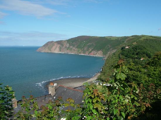 Lynmouth, UK : View from the top