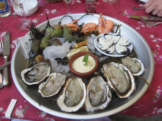 L'Estagnol : The seafood platter