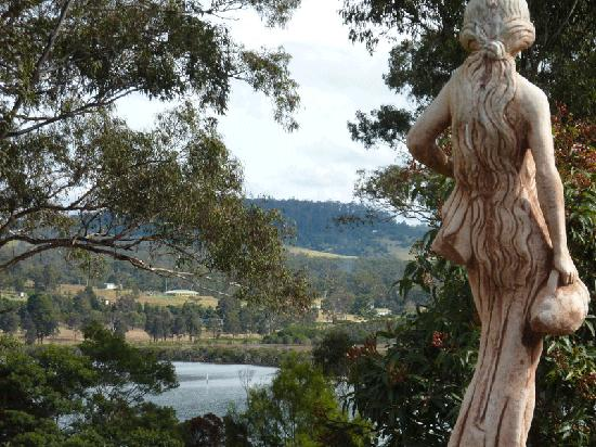 Merimbula Robyns Nest: Walkway from our Cottage