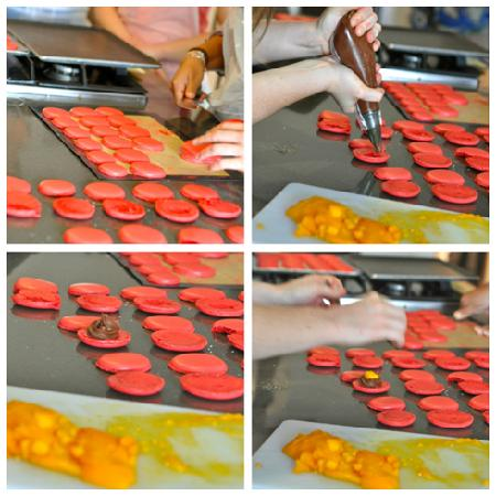 Filling macarons foto di la cuisine paris cooking - La cuisine cooking classes ...
