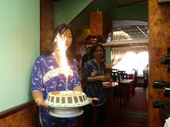 Le Kinh Do : Gâteau d'anniversaire fait maison