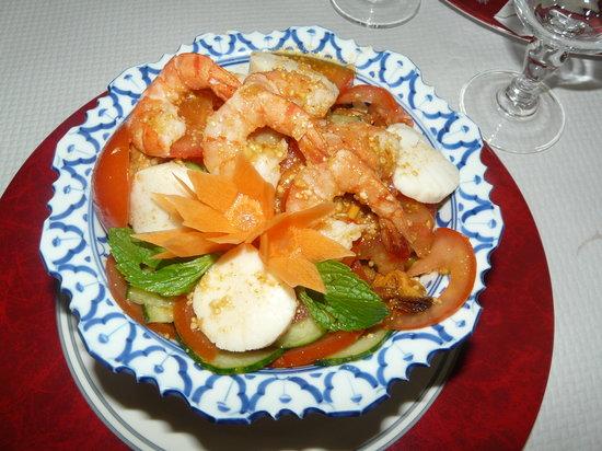 Landivisiau, Франция: Salade balinaise