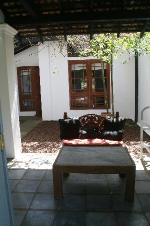 Club Villa: Our private garden