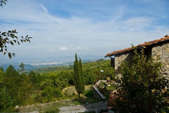 Capovelli B&B: Casa in pietra panorama