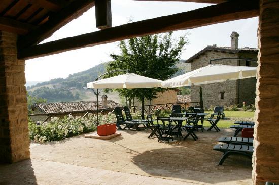 Borgo Belvederi: L'angolo barbecue