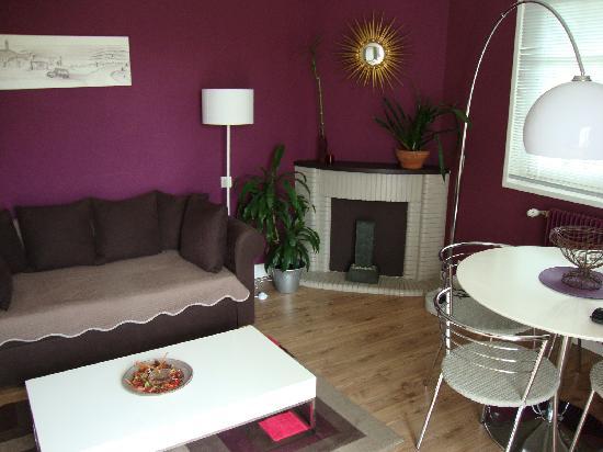 Maison Arbolateia Chambres d'hotes : living - erretegia