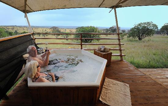 Serengeti Bushtops Camp: Pool