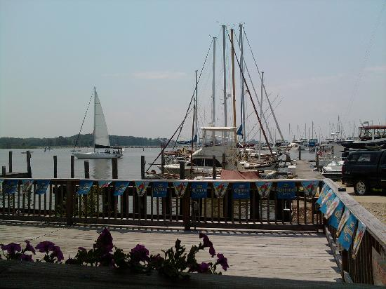 Harbor Shack : View from our Table