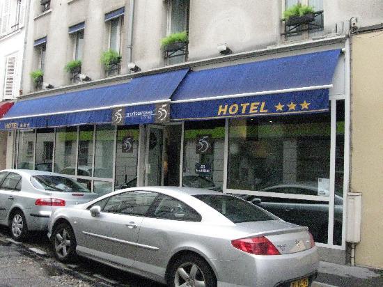 Le 55 Montparnasse Hotel Ingresso Dellhotel
