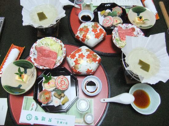 Ushioso: 夕食1