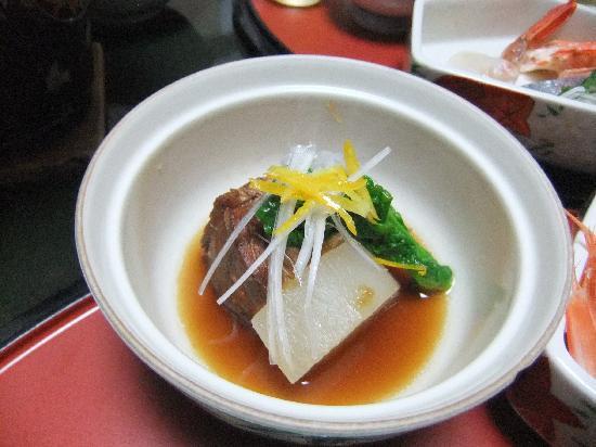 Ushioso: 猪肉の煮込み