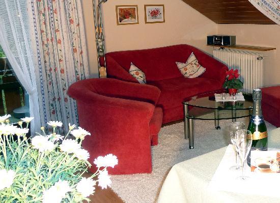 Landhaus Anja: Wohnzimmer zum Wohlfühlen