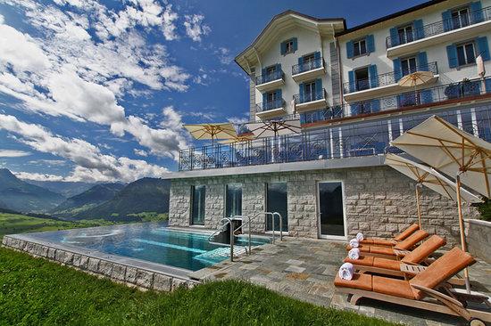 der au enpool picture of hotel villa honegg ennetbuergen tripadvisor. Black Bedroom Furniture Sets. Home Design Ideas