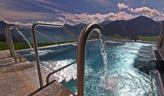 Hotel Villa Honegg : Unvergessliche Lichtstimmung
