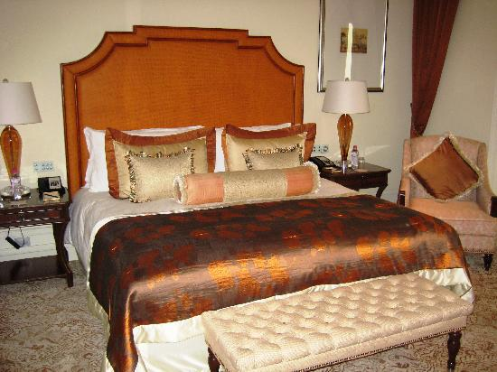 The Taj Mahal Palace: The bed