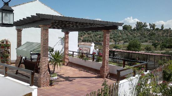 Apartamentos Turistico Rurales Via Verde del Aceite: Pérgola